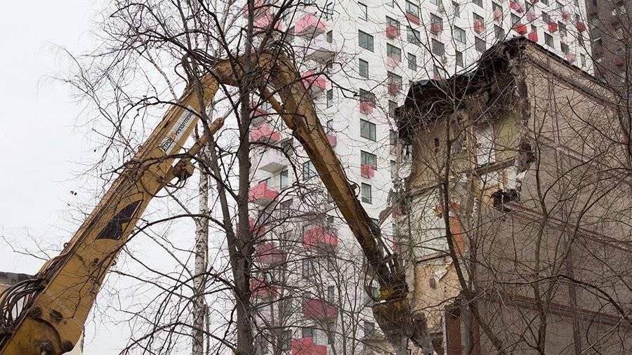 Объем аварийного жилья в РФ не уменьшается