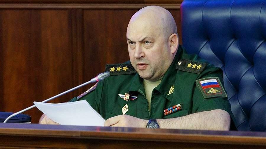 Командующий группировкой русских войск вСирии возглавил ВКС РФ