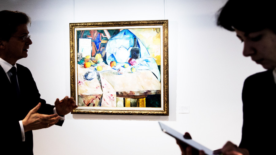 Натюрморт Гончаровой продали нааукционе встолице Англии за2,5 млн фунтов