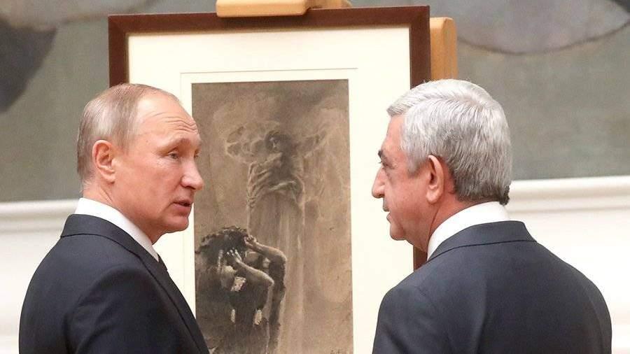 РФ иАрмению объединяют по-настоящему союзнические отношения— Путин