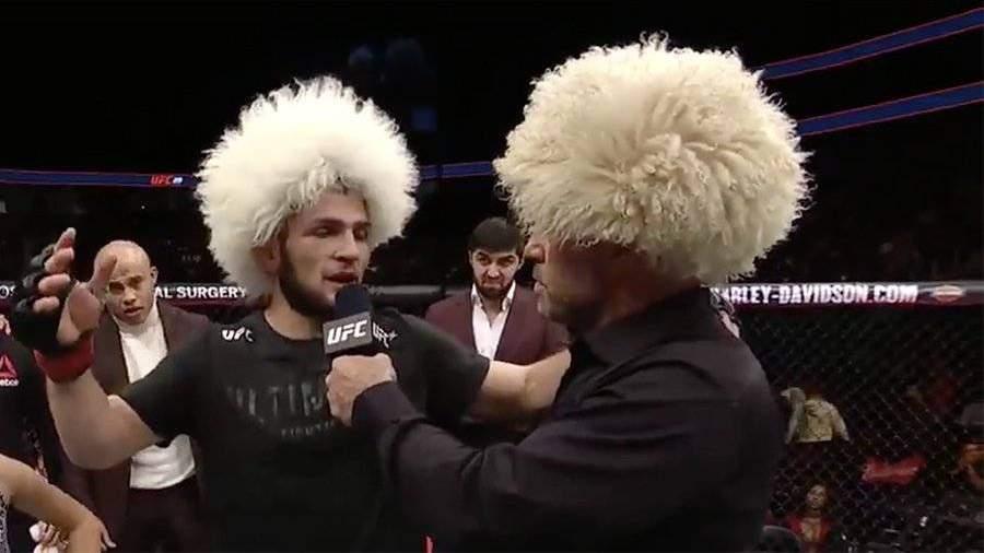 Нурмагомедов победил бразильца Эдсона Барбозу в бою UFC
