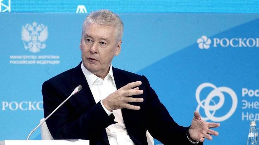 Собянин поведал о основных направлениях вразвитии столицы на предстоящий год