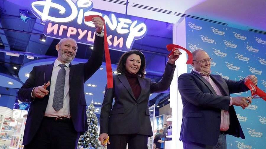 e27389f08fe Disney открыл первый в России магазин игрушек