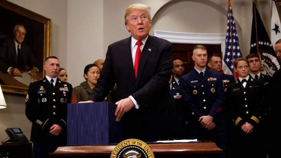 Трамп объявит новую стратегию национальной безопасности США впонедельник