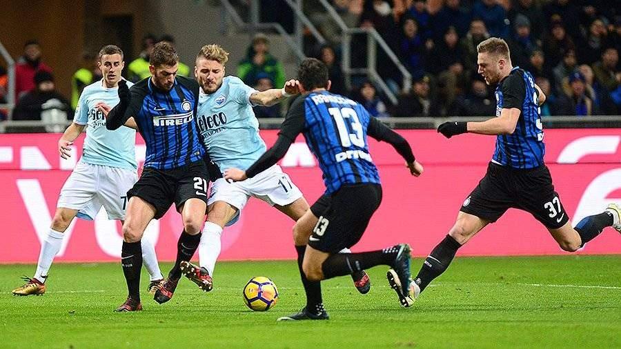 «Интер» сыграл вничью с «Лацио»