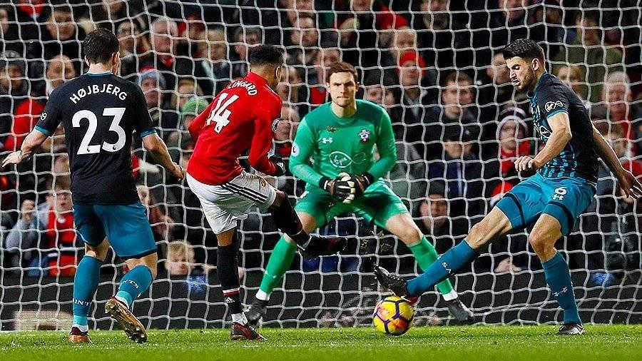 «Манчестер Юнайтед» сыграл вничью с «Саутгемптоном»