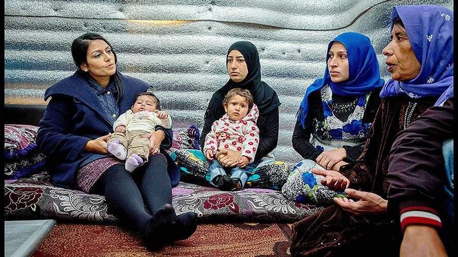 Число сирийских беженцев вЛиване составляет наименее 1 млн человек