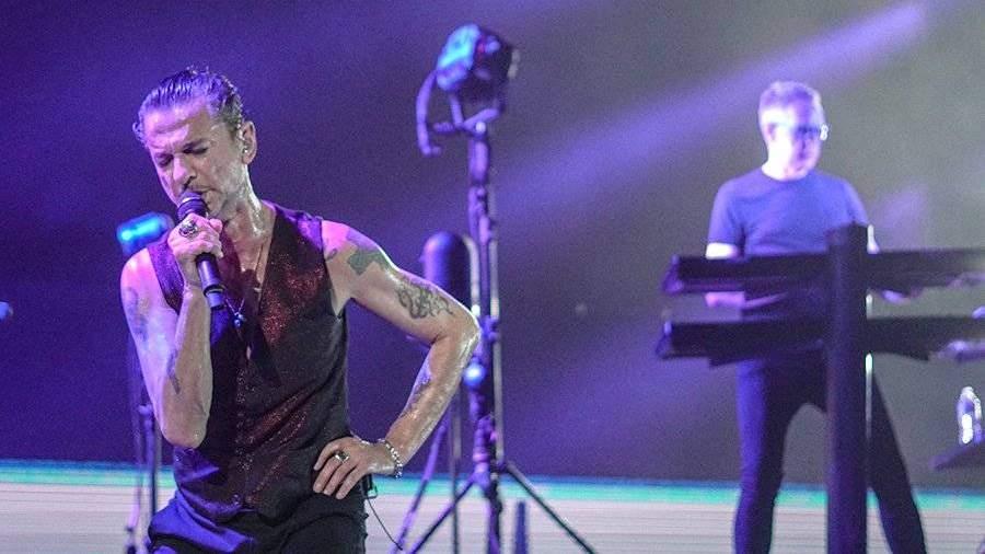 Depeche Mode продала рекордное количество билетов наконцерты в нынешнем году