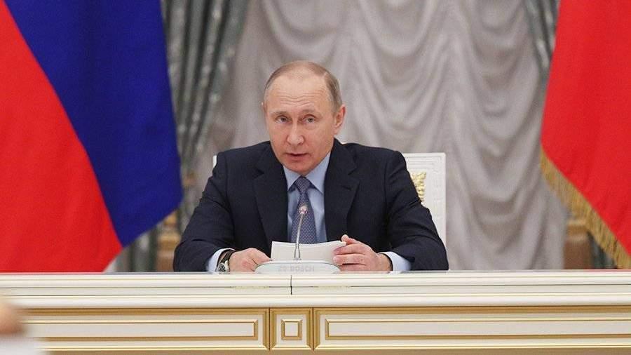 Путин потребовал откабмина обязательно выдержать планы поросту зарплат бюджетников