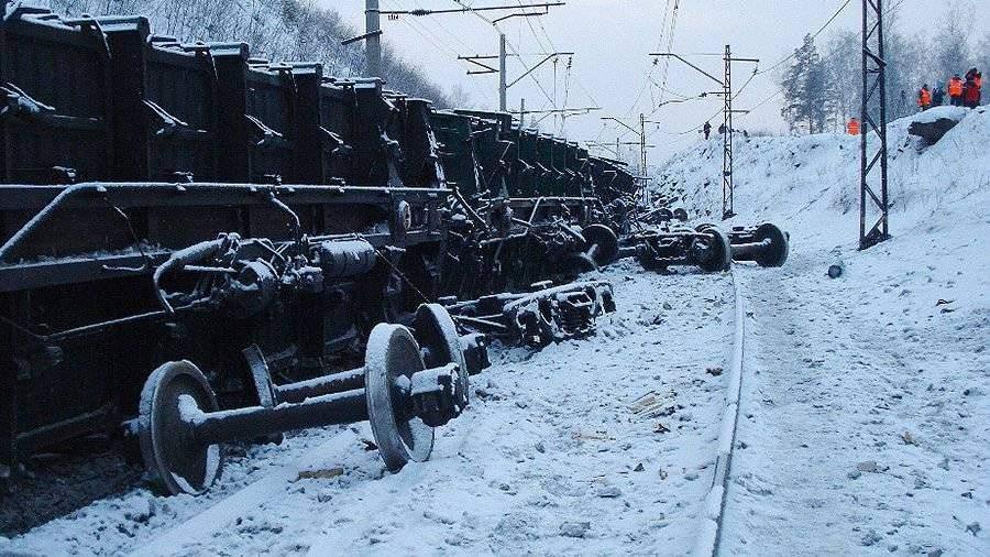 ЗабЖД отменила два пригородных поезда из-за схода вагонов вХилокском районе