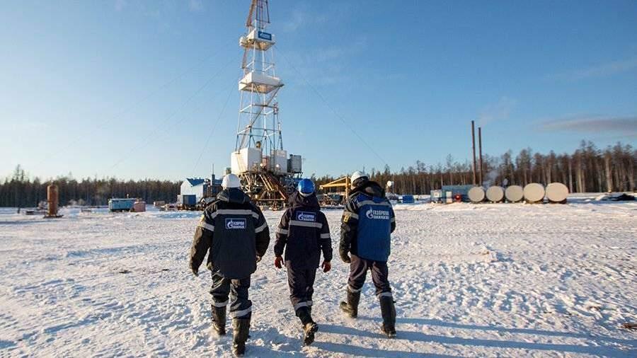 «Газпром» нарастил добычу газа на13,4% за11,5 месяцев