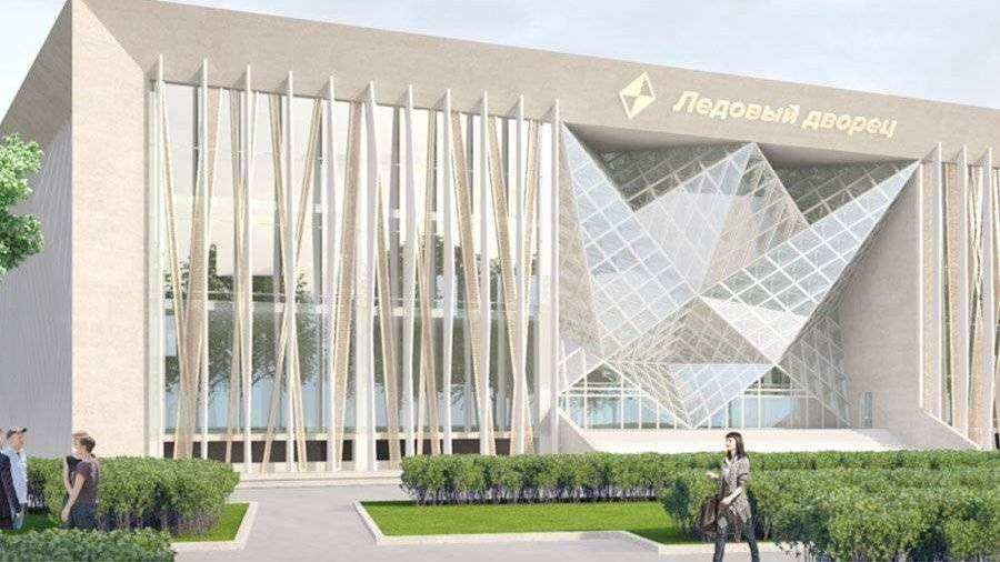 Ледовый дворец «Кристалл» встоличных «Лужниках» могут достроить в предстоящем 2019 году