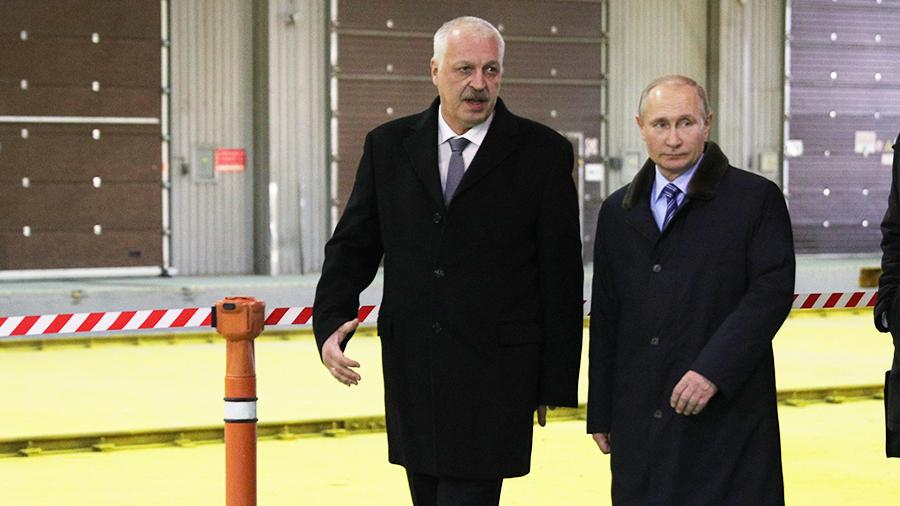 Первым доверенным лицом В. Путина напрезидентских выборах стал босс Тверского вагоностроительного завода