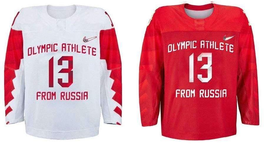 МОК утвердил форму сборной России похоккею наОИ-2018