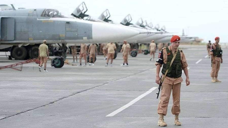 Минобороны рассказало о предпринятых после обстрела базы Хмеймим мерах