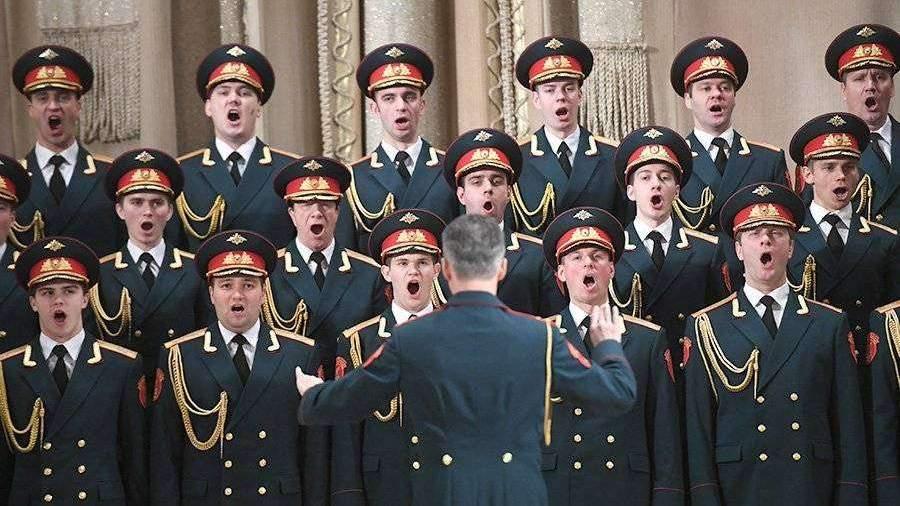 Ансамбль Александрова выступил на основной сцене Пекина