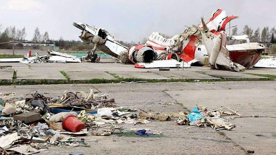Поляки определились сосновной версией крушения самолета Качиньского