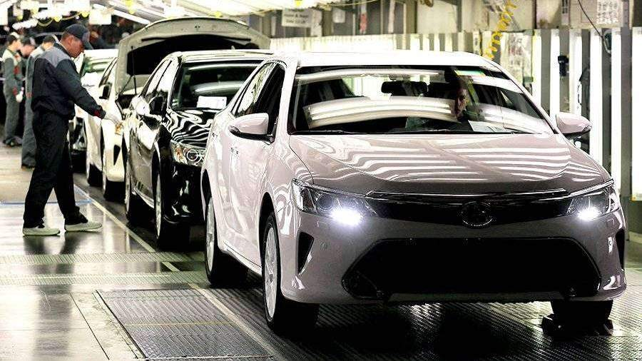 Тойота Camry новоиспеченной генерации появится в Российской Федерации вконце 2018