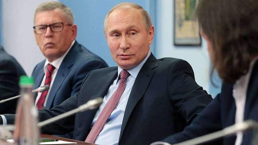 Путин обещал поразмыслить одополнительных послаблениях врекламе алкоголя