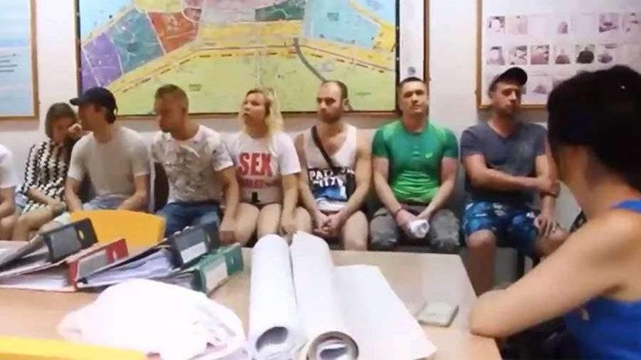 Секс с росиянином