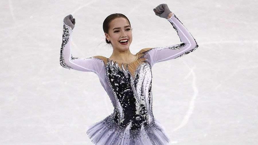 загитова короткая программа 2019 олимпиада