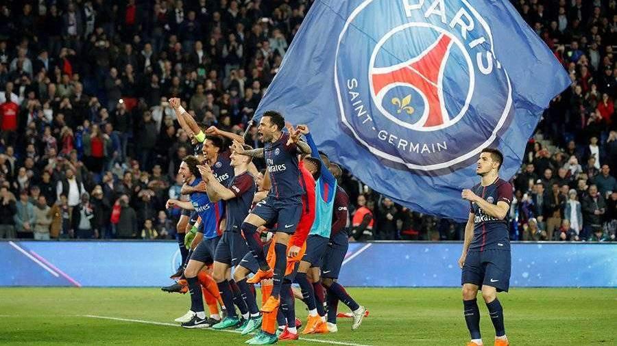 ПСЖ забил семь мячей «Монако» и стал чемпионом Франции по футболу
