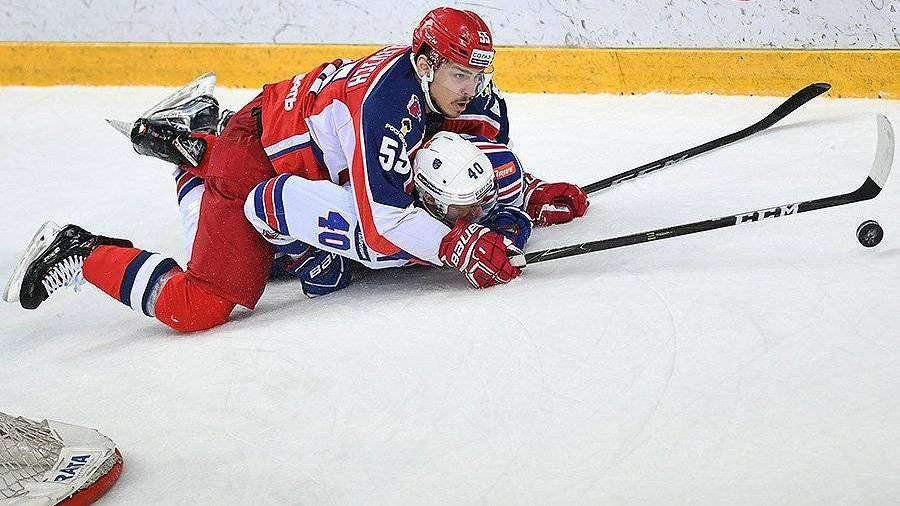 ЦСКА выиграл матч против СКА в финале Западной конференции