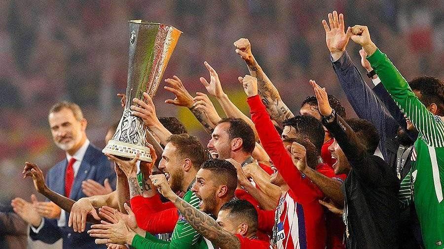 «Атлетико» в третий раз стал победителем Лиги Европы УЕФА