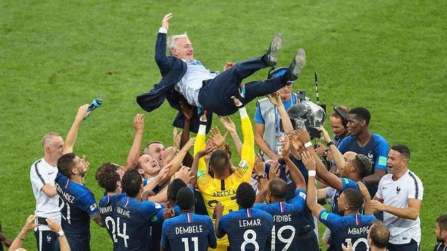 Футбол франция чемпионы мира
