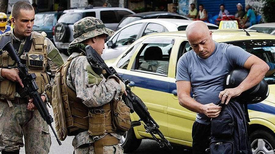 В Бразилии решили отстреливать преступников на улицах