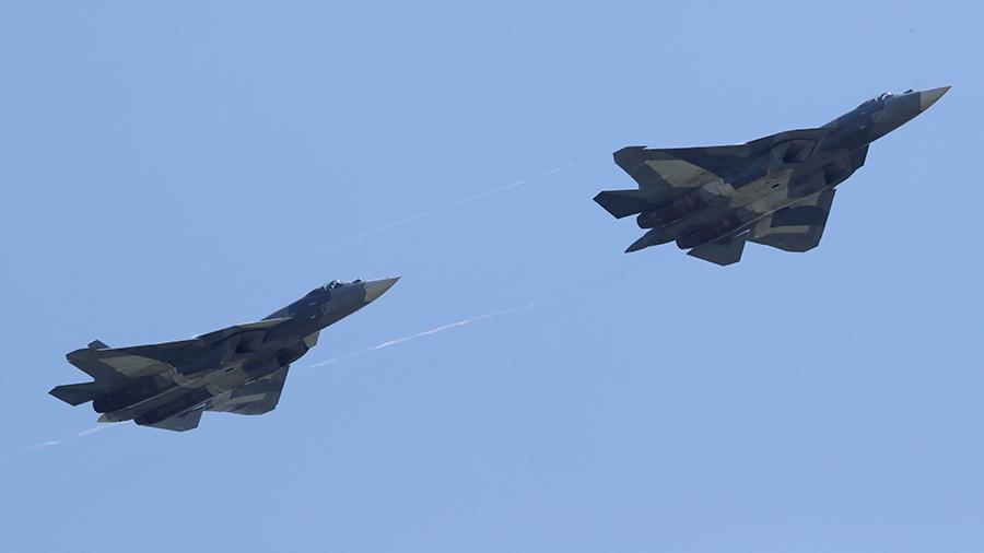 В США назвали Су-57 слишком дорогим для России