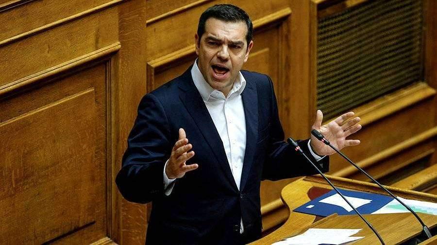 Премьер Греции внес вопрос о доверии правительству в парламент