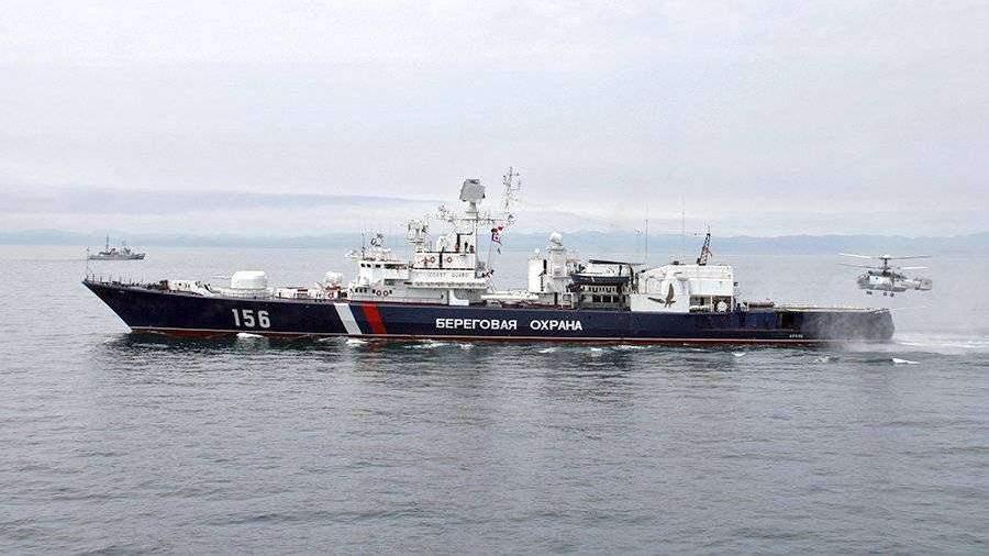 Пограничники РФзадержали японское судно