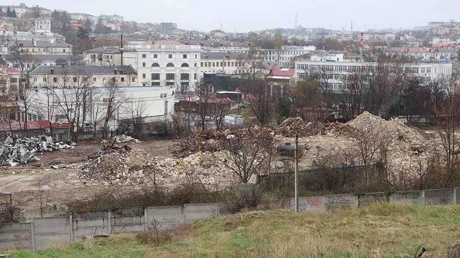 Началась подготовка к строительству культурного кластера в Севастополе