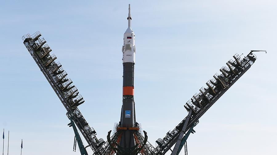 Ракета с кораблем «Союз МС-12» стартовала с космодрома Байконур