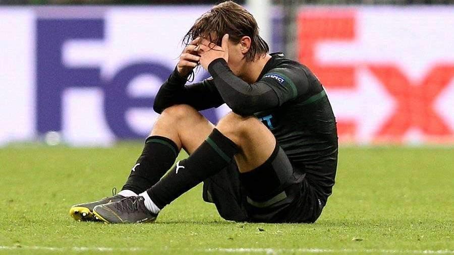 «Краснодар» пропустил от «Валенсии» на 93-й минуте и вылетел из Лиги Европы