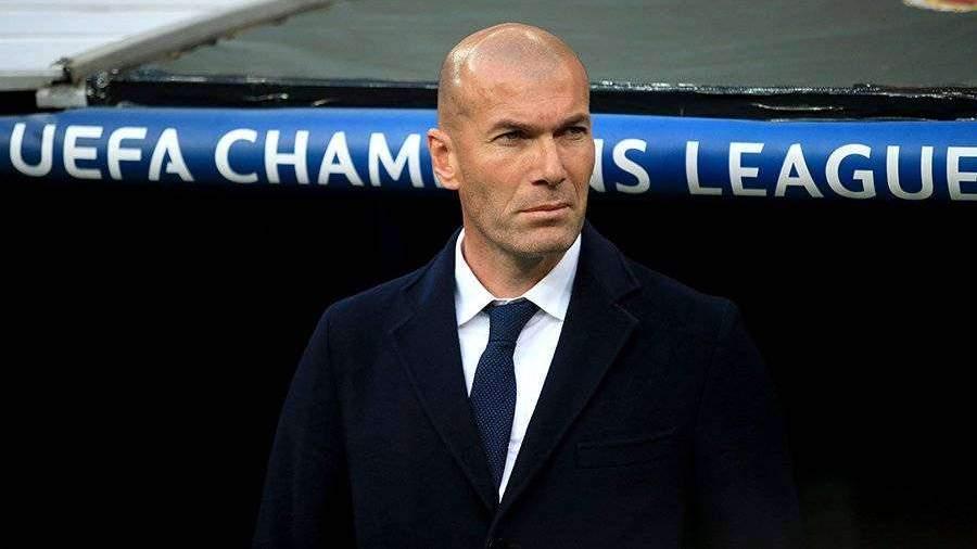 Названа зарплата Зидана в «Реале»