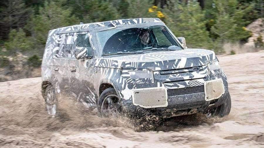 Land Rover приступил к финальным тестам нового Defender