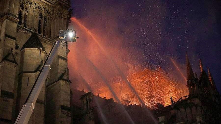 Епископы Франции призвали как можно скорее восстановить Нотр-Дам