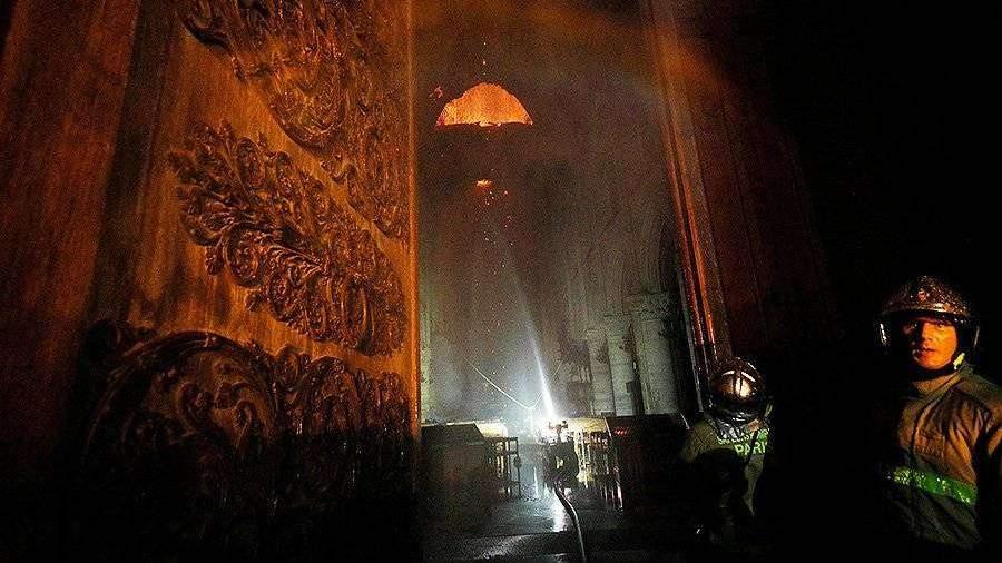Возникла угроза обрушения колокола собора Парижской Богоматери