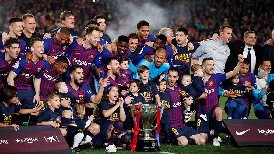 Cempioni испании по футболу