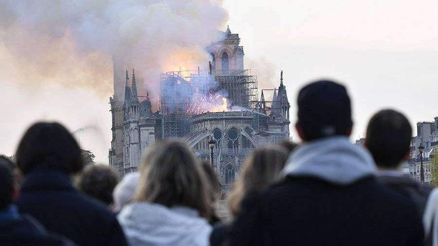 Во Франции возбудили уголовное дело из-за пожара в соборе Парижской Богоматери