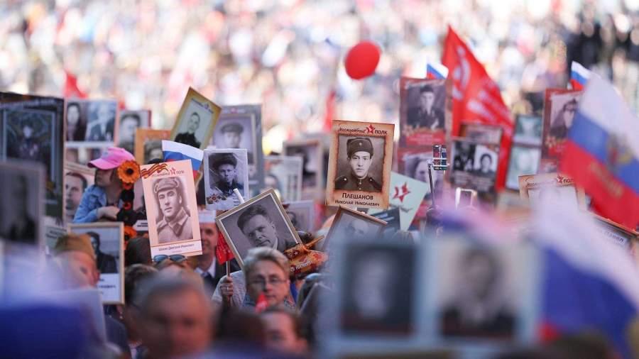 В «Бессмертном полку» назвали уместные на шествии портреты