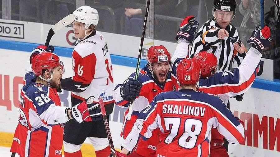 ЦСКА победил «Авангард» во втором матче финала Кубка Гагарина