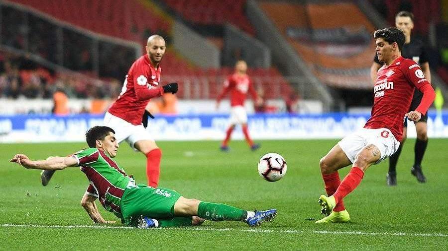 «Спартак» и «Рубин» сыграли вничью в матче РПЛ