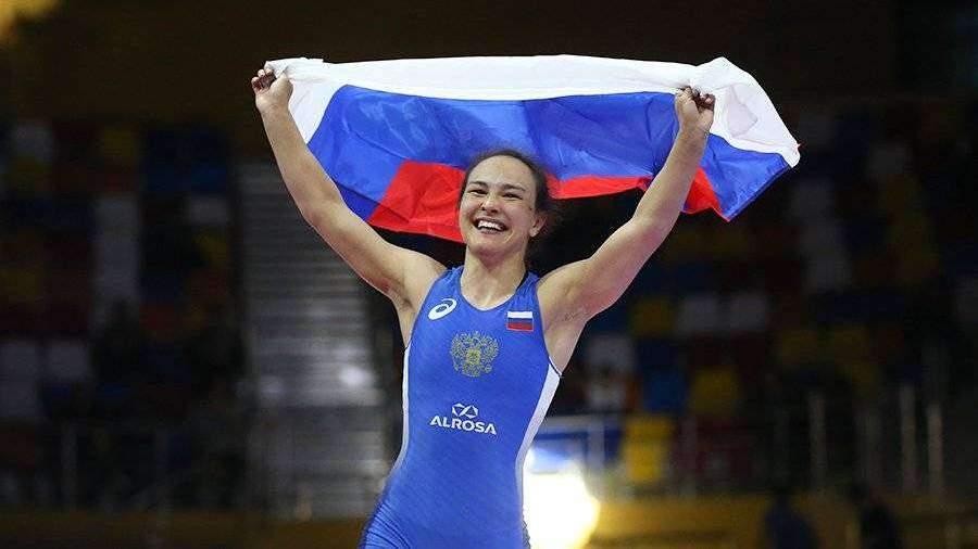 Россиянка Оршуш завоевала золото чемпионата Европы по борьбе