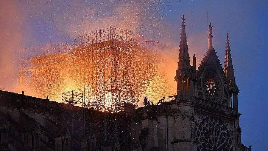 Названы сроки восстановления собора Парижской Богоматери