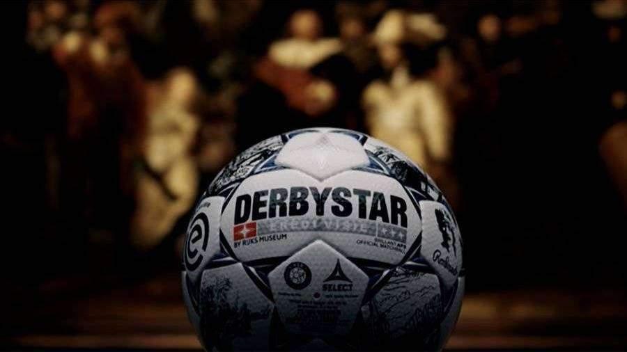 Футбольным мячом с изображением Рембрандта сыграют в чемпионате Нидерландов