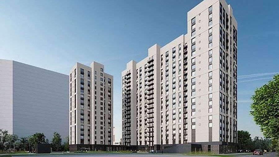 Дом изогнутой формы построят по программе реновации в Москве