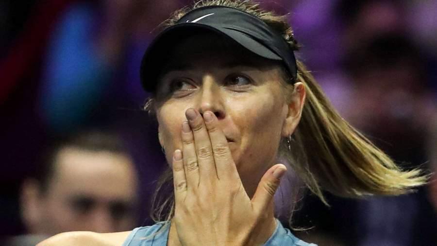 Теннисистка Мария Шарапова снялась с «Ролан Гаррос»